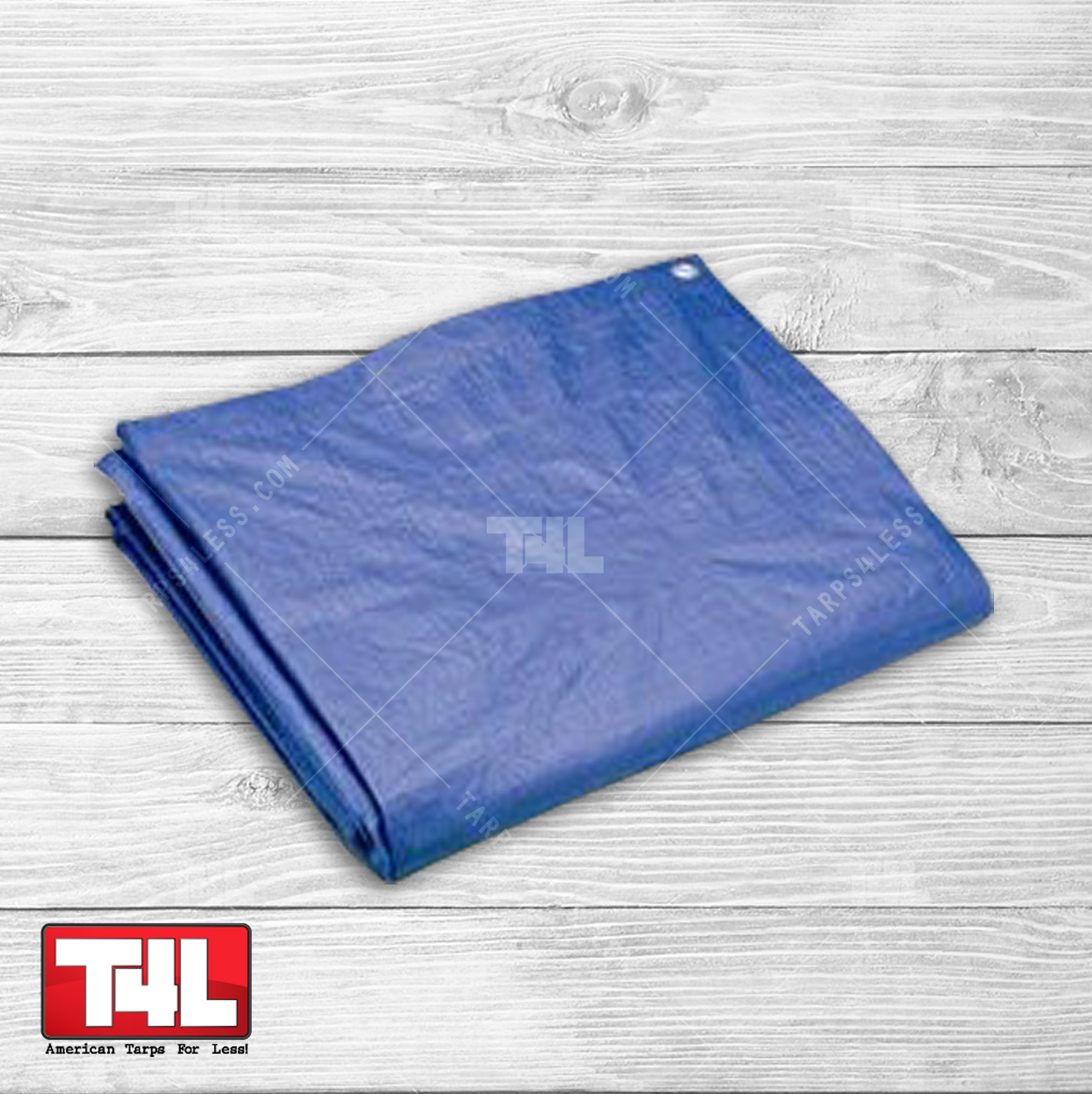 All-Purpose Poly Tarp Blue