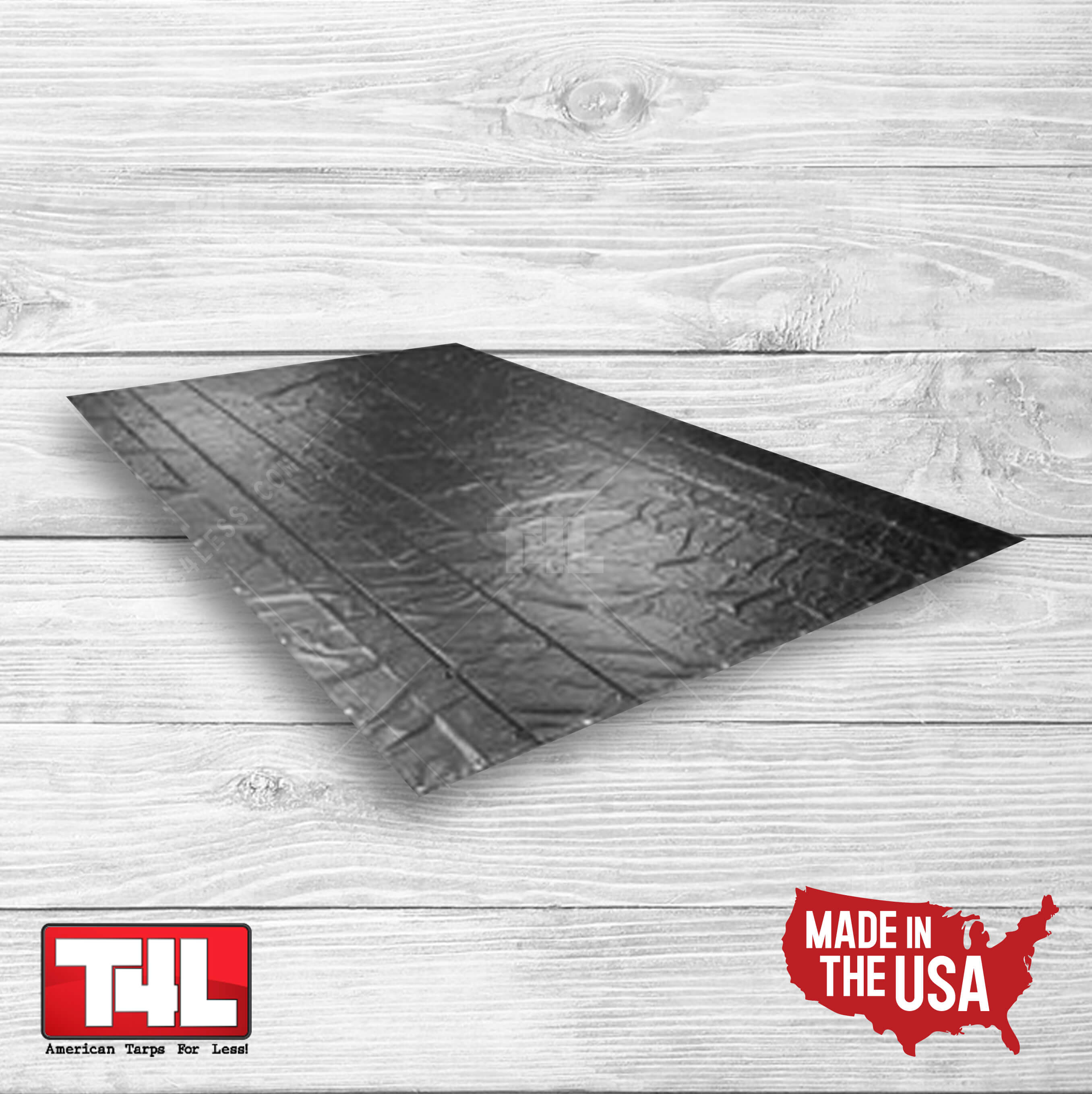 16′ X 25′ Steel Tarp 2 rows (18 oz.)