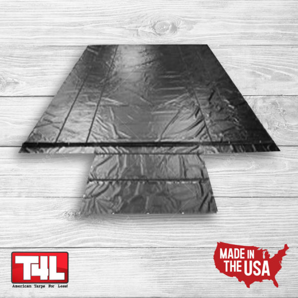 20′ x 26′ Wallboard Tarp – 2 rows (18 oz.)