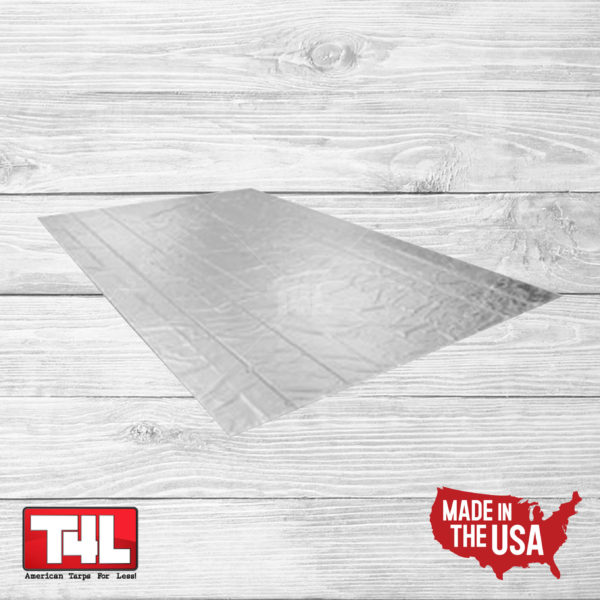 24' x 30' Lumber Tarp - no flap (18 oz.) gray
