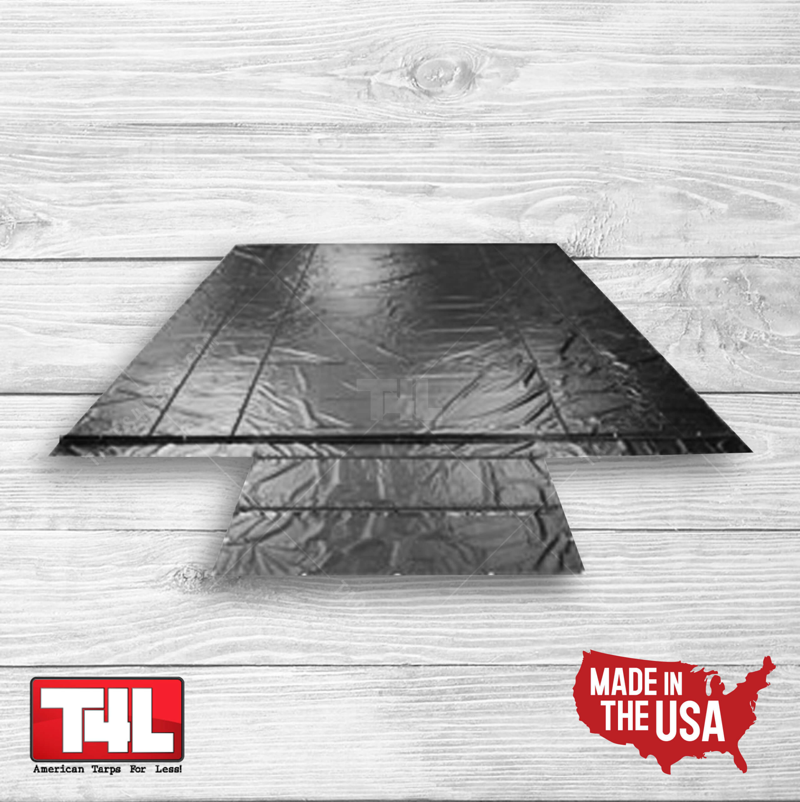 3 Piece Wallboard Tarp Set (6' Drops)