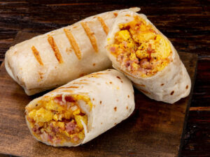 Bacon Egg & Cheese Burrito