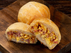 Egg, Cheese & Bacon Mini Biscuit