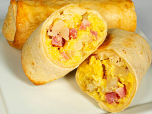 Burritos - Ham Potato Egg and Cheese – 5 oz