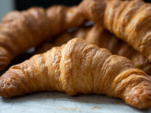 Croissant Butter Curved