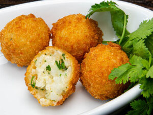 Arancini with Four Cheese Blend - Gluten Free