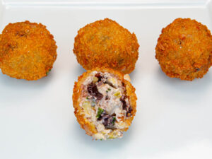 Croquette - Olive Manchego Bites