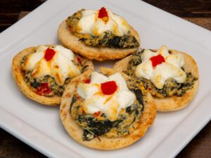Flatbread - Artichoke, Spinach & Goat Cheese