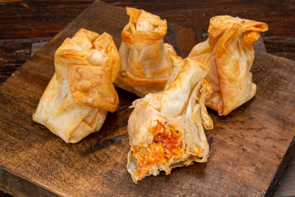 Phyllo Pouch - Buffalo Chicken