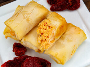 Phyllo Roll – Feta and Sundried Tomato