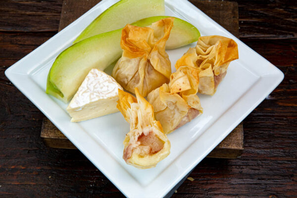 Phyllo Star - Blue Cheese & Pear with Almonds