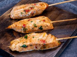 Satay - Chili Lime Salmon