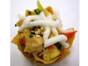 Chicken – Asian Salad Spring Roll Cup