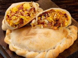 Breakfast Empanada - Bacon, Egg & Cheese