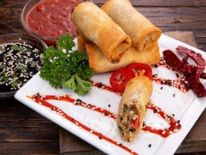 Spring Roll - Spicy Peking Duck