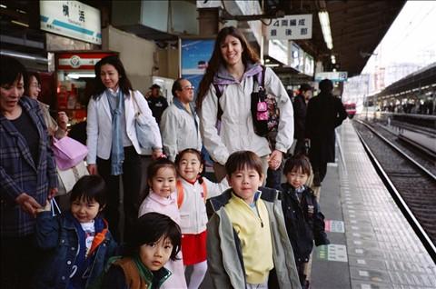 Shinagawa Aquarium Field Trip Departure