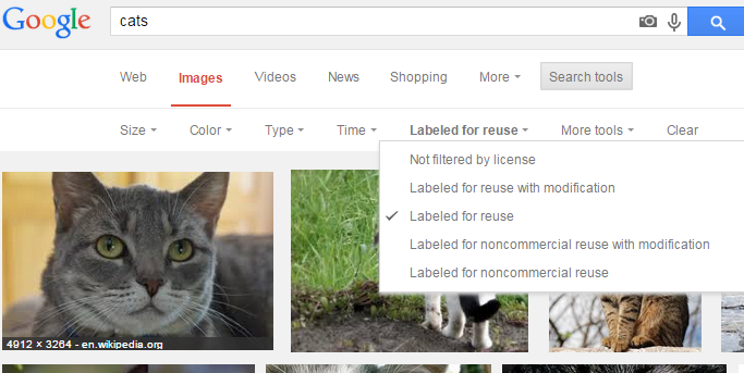 search free images on google