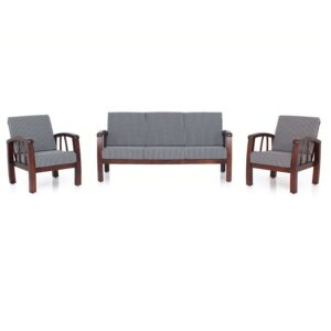 Jasper Wooden Sofa – 3-1-1 Set Jfa Funiture