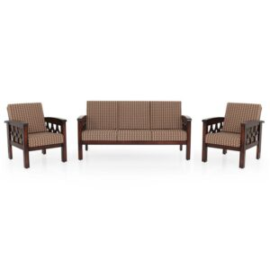 Diamond Teak Sofa-3-1-1 Set