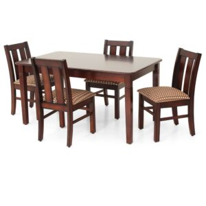 Buy Teak Wood Dining Set Online in Chennai at Jfa Furniture Online