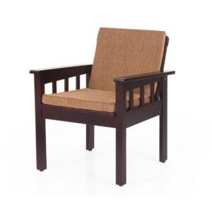 Portland Wooden Single Sofa