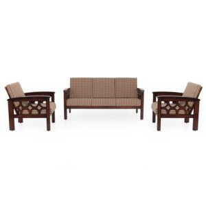 Diamond Wooden Sofa – 3-1-1 Set Jfa Furniture