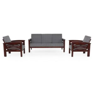 Emerald Wooden Sofa – 3-1-1 Set Jfa Furniture