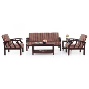 Garnet Wooden Sofa – 3-1-1 Set Jfa Furniture