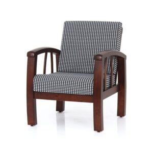jasper wooden single sofa