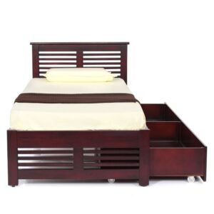 Konark Single Cot with 1 storage Modfurn
