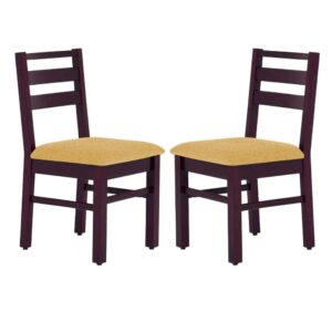 Buy Melon Dining Chair – Set of 2 in Jfa Furniture Chennai