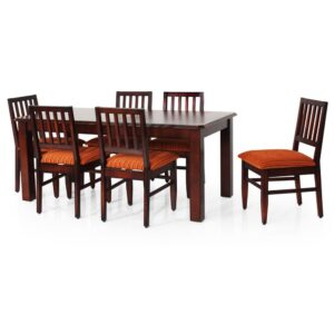 Buy Victory Dining Set with Six Dining Chair Online at Jfa Furniture Chennai