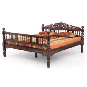 Chettinad Teak King Cot Jfa Furniture