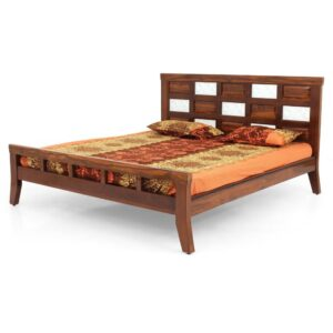 RED QUEEN Size COT Jfa Furniture