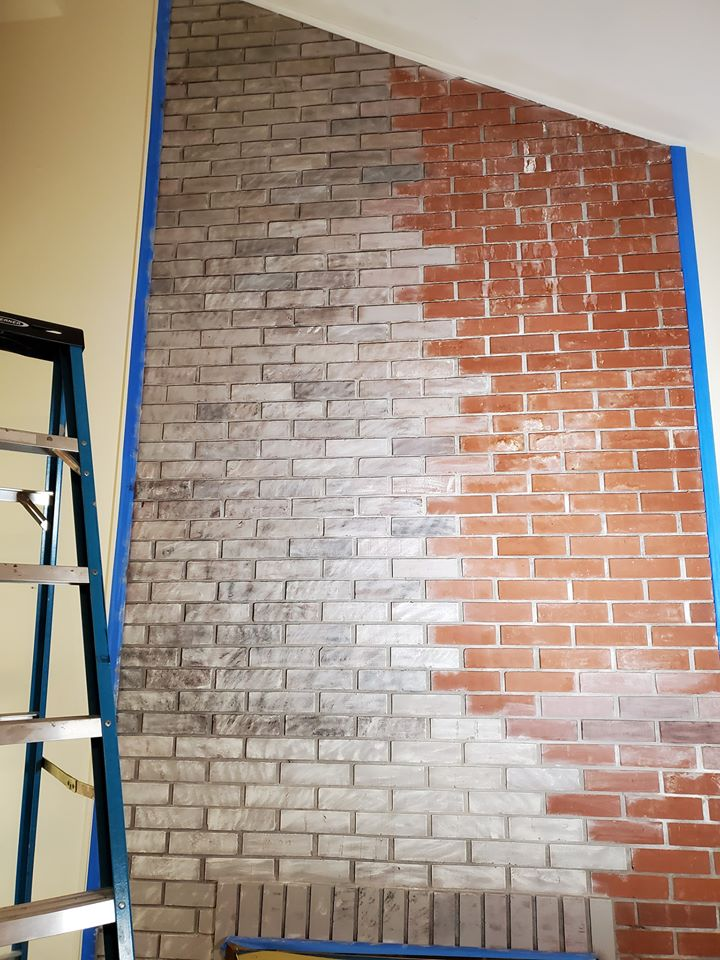 How To Update Your Brick Fireplace Easily