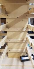 cabinet drying rack
