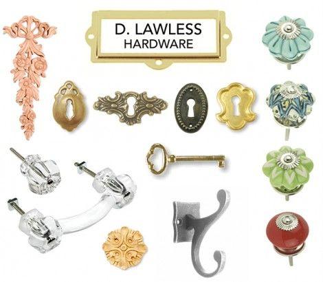 D Lawless Hardware Logo