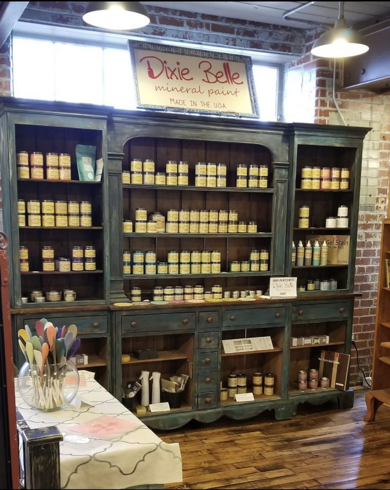 Monroe Paint Display Booth