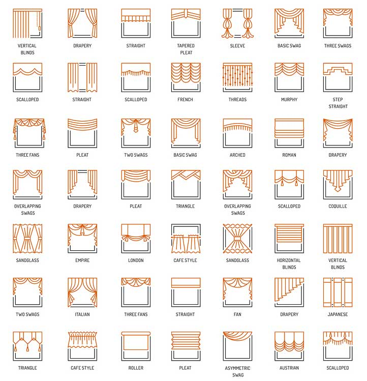 curtains and drapes styles