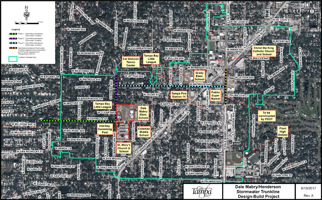 Dale-Mabry-Henderson-Trunkline-Project-Map