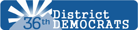 36th District Democrats logo