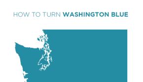 How to Turn Washington Blue