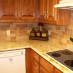 Colonial Gold with Noce Tile