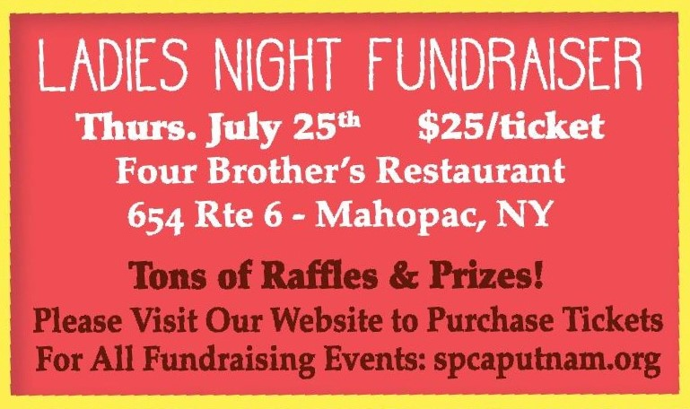 Putnam County SPCA : Ladies Night Fundraiser