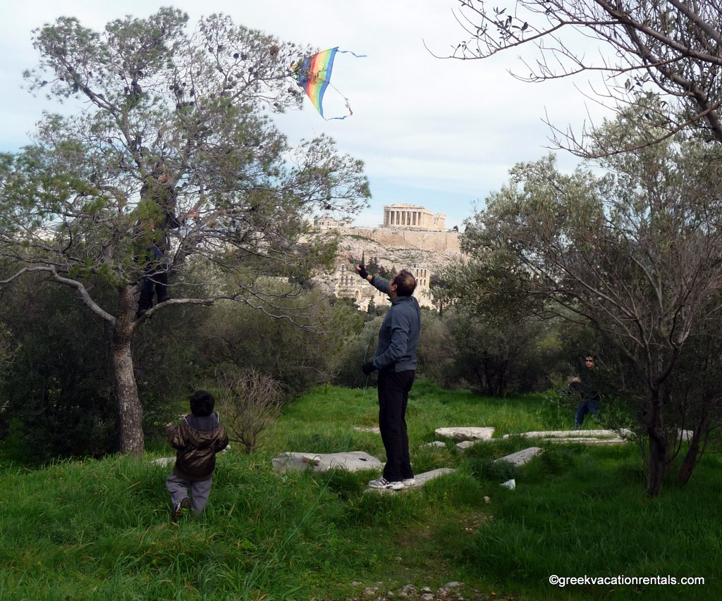 Let's go fly a kite! Clean Monday in Athens