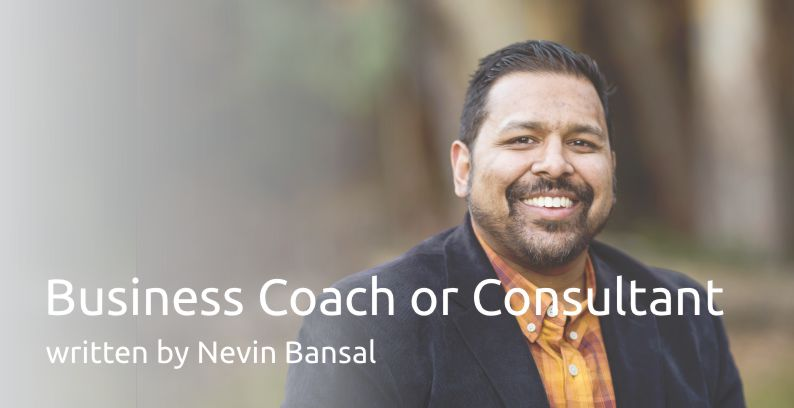 Business Coach Or Consultant