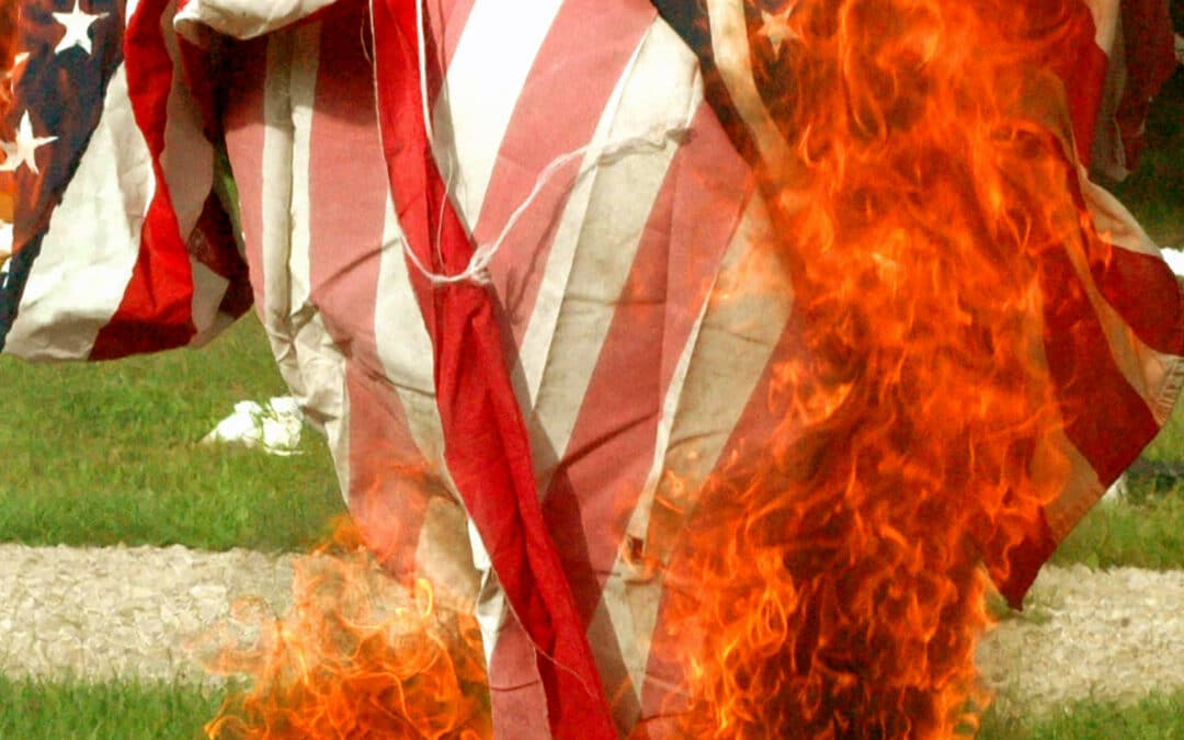 Is It A Crime To Burn A Flag In Texas?