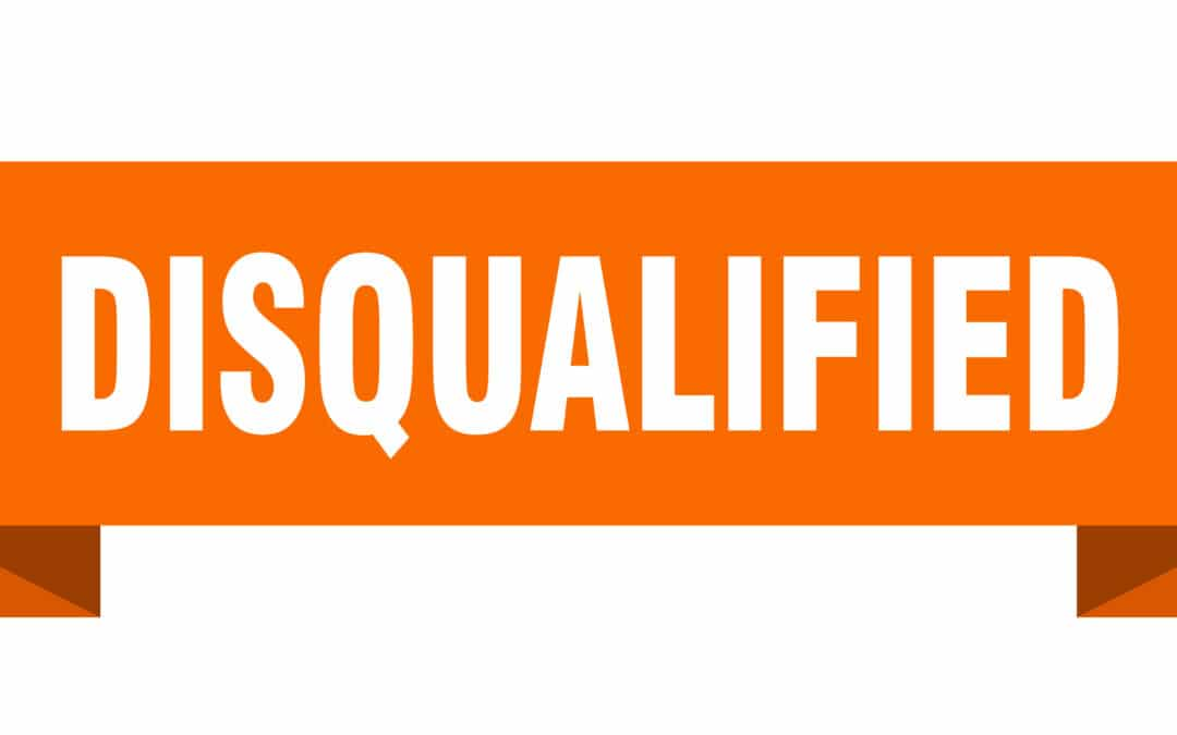 disqualifying association