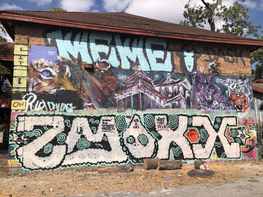 Legal Graffiti in Texas