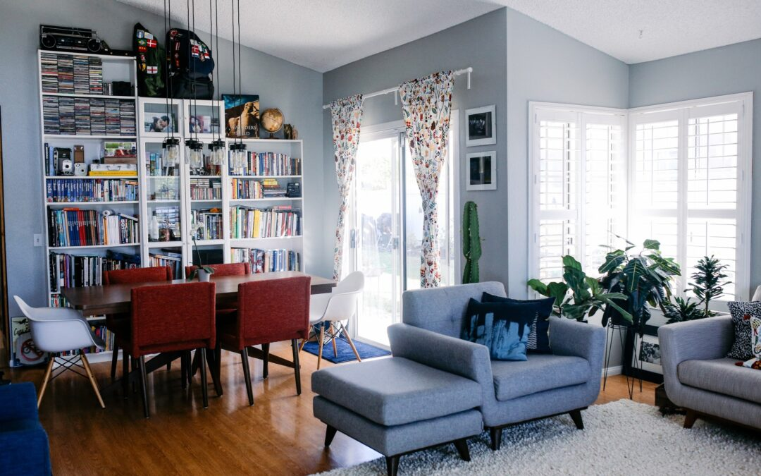 How to Organize Large, Stressful Spaces